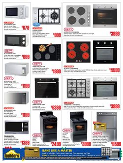 Stove offers in the Builders Warehouse catalogue in Cape Town