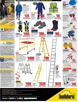 Shoes offers in the Builders Warehouse catalogue in Cape Town
