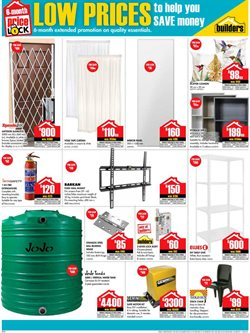 Shelving offers in the Builders Warehouse catalogue in Cape Town