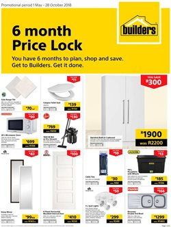 Builders Warehouse Catalogues Amp Specials October 2018