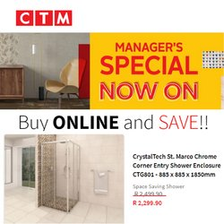 CTM catalogue ( Expires tomorrow)