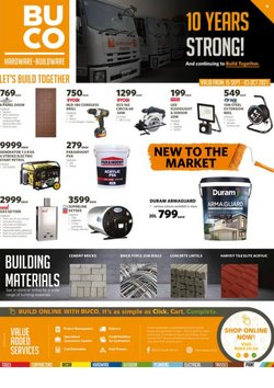 Cashbuild offers in the Promo Tiendeo catalogue ( 8 days left)