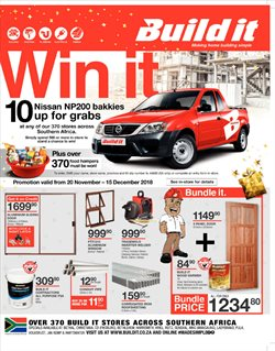 Doors offers in the Build It catalogue in Cape Town