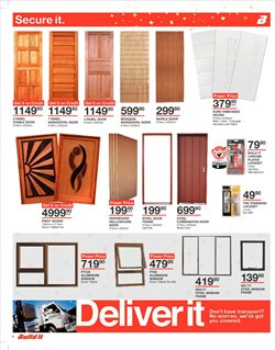Boots offers in the Build It catalogue in Cape Town