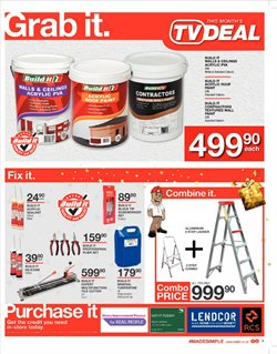 Toilets offers in the Build It catalogue in Cape Town