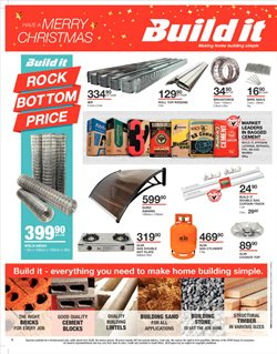 Bricks offers in the Build It catalogue in Cape Town