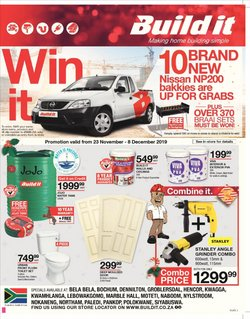 Build It deals in the Polokwane special
