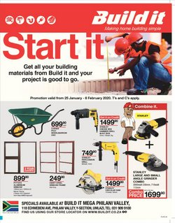 DIY & Garden offers in the Build It catalogue in Durban
