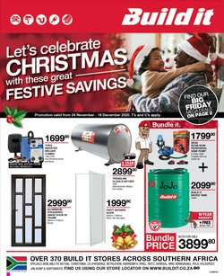 Christmas offers in the Build It catalogue ( 20 days left)