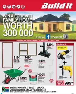DIY & Garden offers in the Build It catalogue in Durban ( 2 days ago )