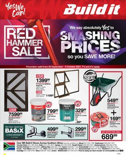 DIY & Garden offers in the Build It catalogue ( 13 days left)