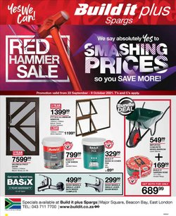 DIY & Garden offers in the Build It catalogue ( 14 days left)