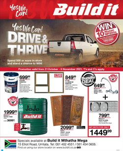DIY & Garden offers in the Build It catalogue ( 11 days left)