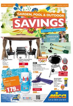 DIY & Garden offers in the Mica catalogue in Durban