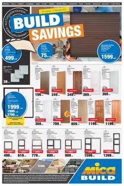 Doors, windows & shutters specials in Mica