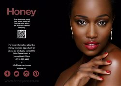 Sales offers in the Honey Fashion Accessories catalogue in Cape Town