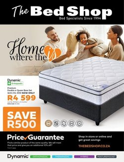 Home & Furniture offers in the The Bed Shop catalogue in Brits ( 6 days left )