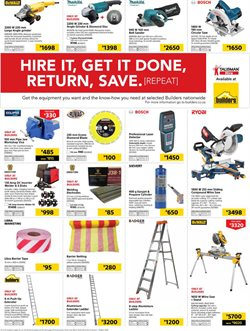 Grinder offers in the Builders Express catalogue in Cape Town