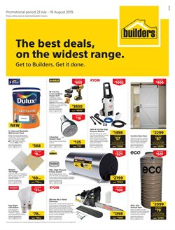 Builders Express deals in the Johannesburg special