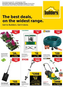 Builders Express deals in the Cape Town special