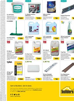 Cement specials in Builders Express