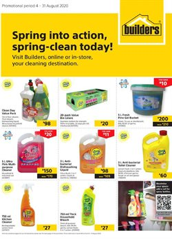 Cleaners specials in Builders Express