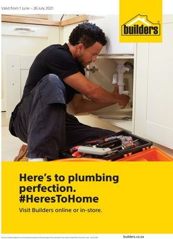 Builders Express offers in the Builders Express catalogue ( Expires tomorrow)
