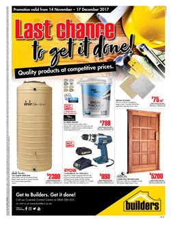 Tiles offers in the Builders Express catalogue in Port Elizabeth