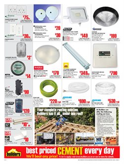 Lamp offers in the Builders Express catalogue in Cape Town
