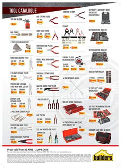 Nails offers in the Builders Express catalogue in Cape Town