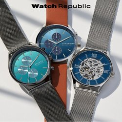 Watch Republic offers in the Watch Republic catalogue ( 5 days left)