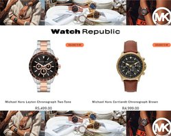 Watch Republic offers in the Watch Republic catalogue ( 1 day ago)