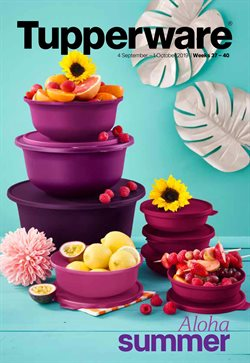 Tupperware deals in the Cape Town special