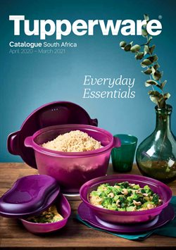 Electronics & Home Appliances offers in the Tupperware catalogue in Cape Town ( More than a month )