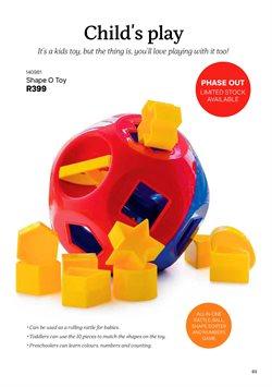 Toys specials in Tupperware