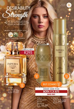 Perfume specials in Justine