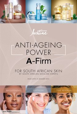 Beauty & Pharmacy offers in the Justine catalogue in Pretoria ( 16 days left )