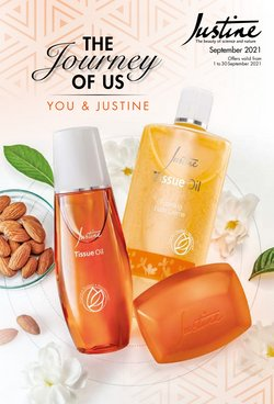 Beauty & Pharmacy offers in the Justine catalogue ( 5 days left)
