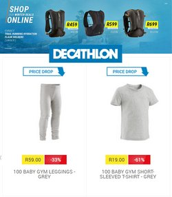 Sport offers in the Decathlon catalogue ( 1 day ago)