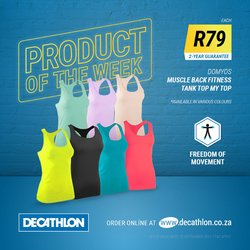 Sport offers in the Decathlon catalogue ( Expires tomorrow)
