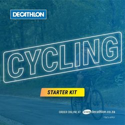 Sport offers in the Decathlon catalogue ( 3 days left)
