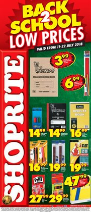 Shoprite deals in the Bloemfontein special