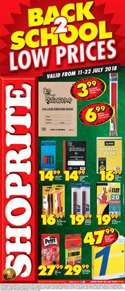 Shoprite deals in the Bhisho special