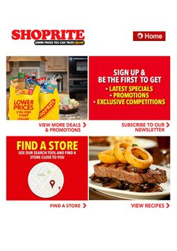 Juice offers in the Shoprite catalogue in Cape Town