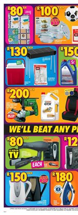 Tools offers in the Shoprite catalogue in Cape Town