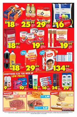 Deodorant offers in the Shoprite catalogue in Cape Town