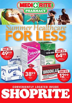 Pharmacy offers in the Shoprite catalogue in Cape Town
