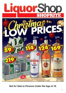 Groceries offers in the Shoprite catalogue in Cape Town