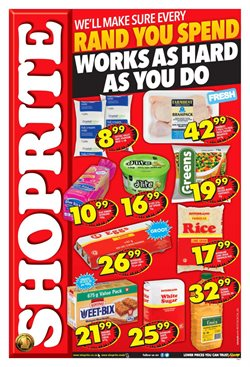 Sugar offers in the Shoprite catalogue in Cape Town