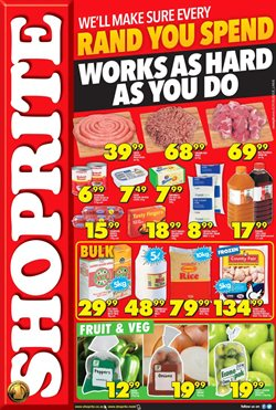 Juice offers in the Shoprite catalogue in East London